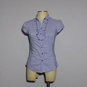 Checkered blouse Small